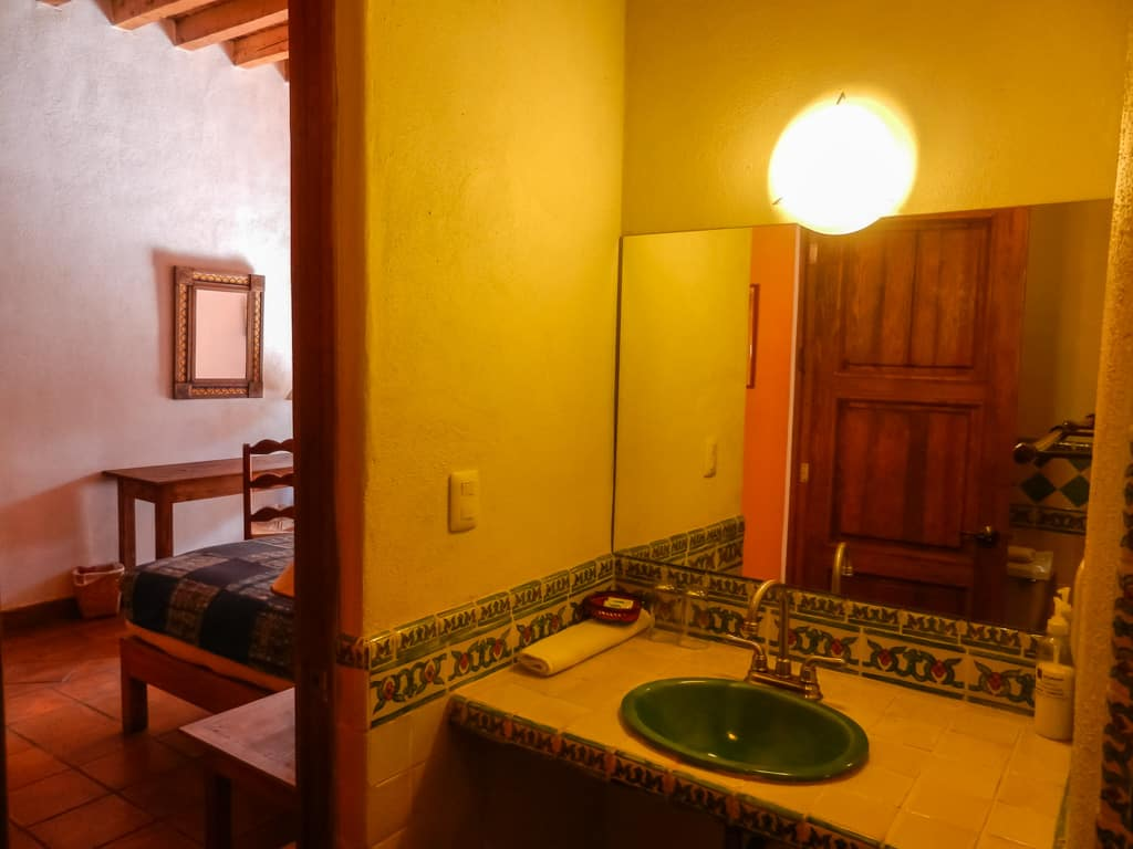 Hotel en patzcuaro sawa baño