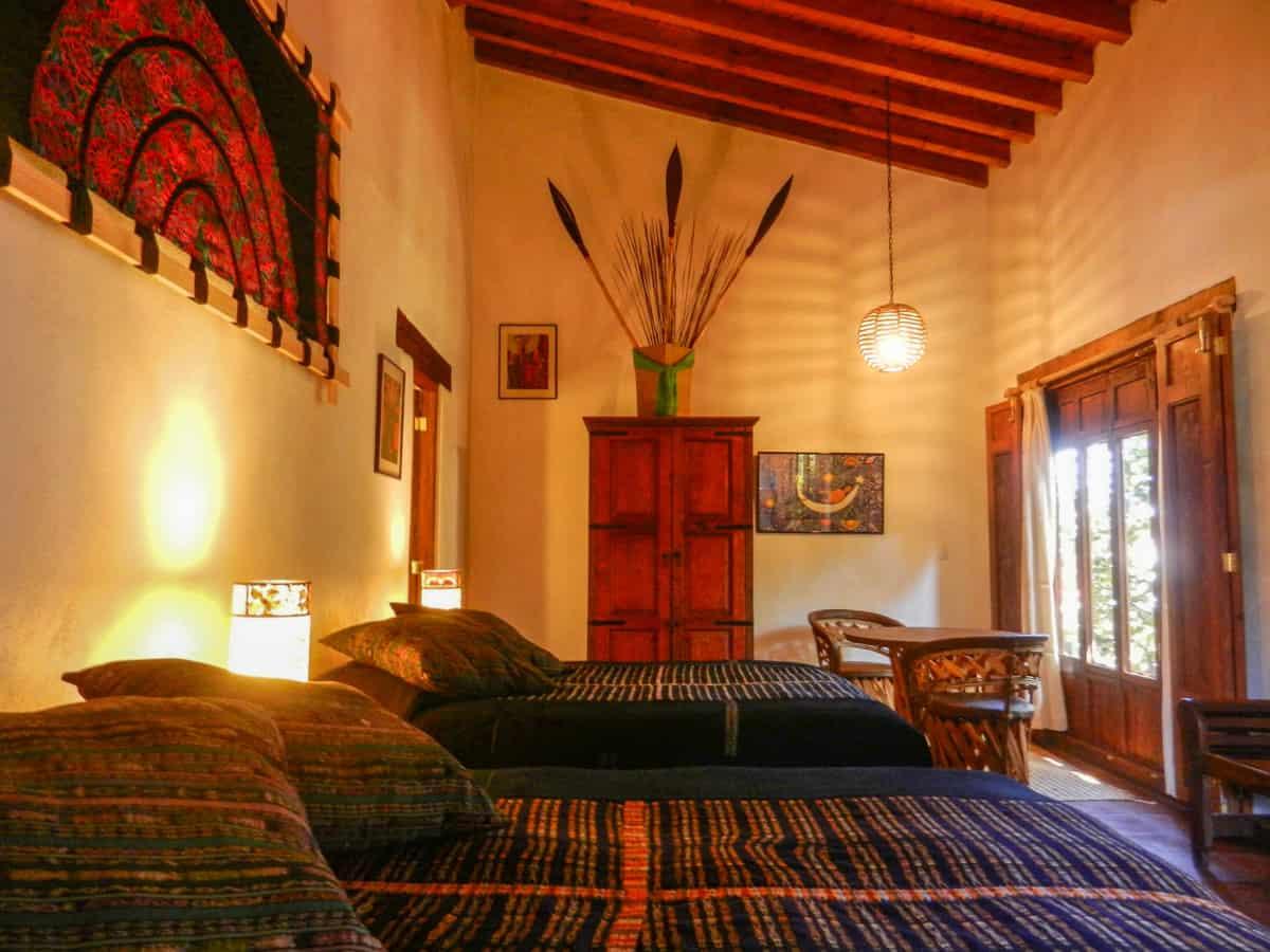 Hotel en Pátzcuaro Yolihuani Donaji techos