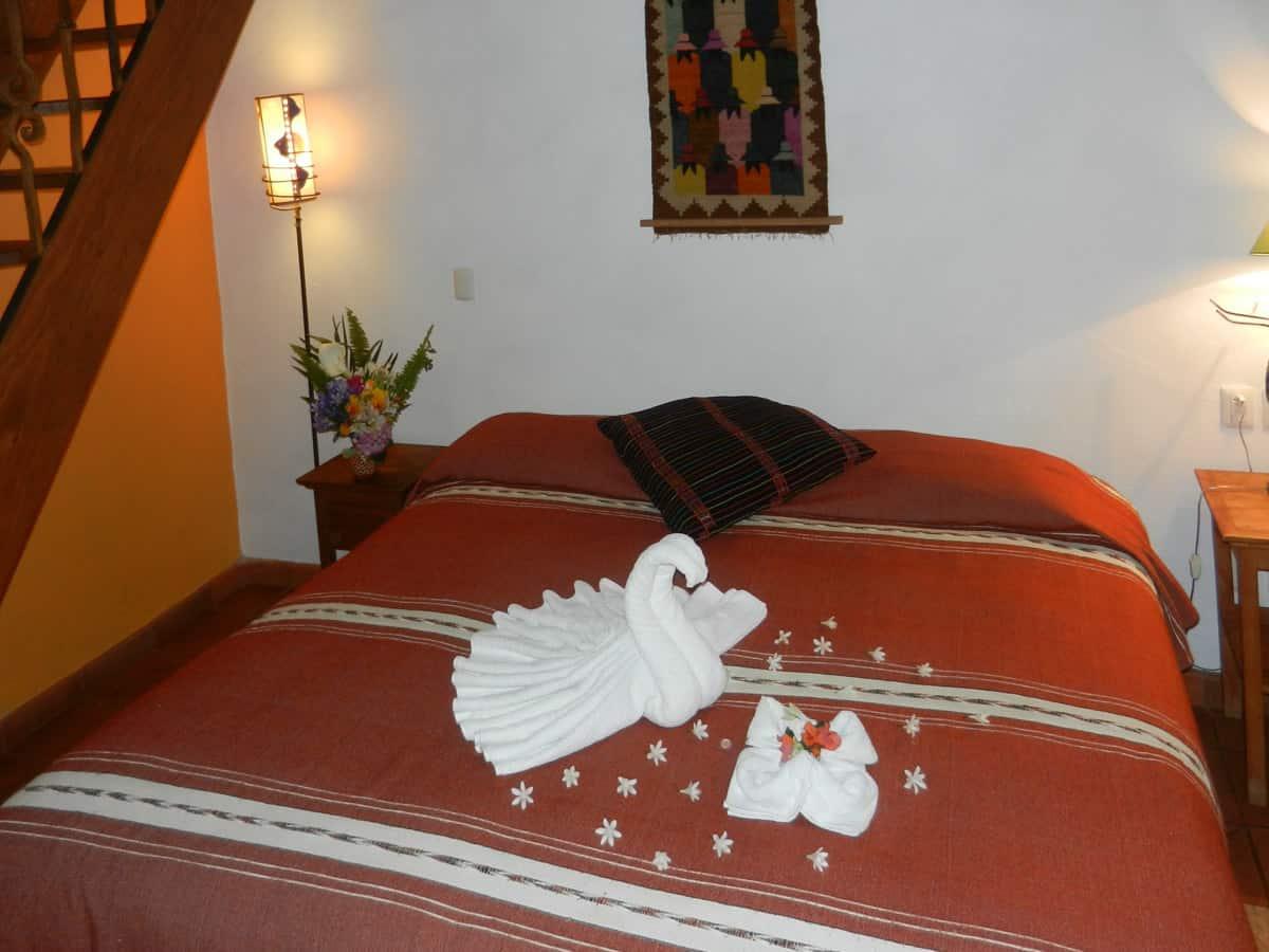 Hotel en Pátzcuaro Iyari cama king size extra grande
