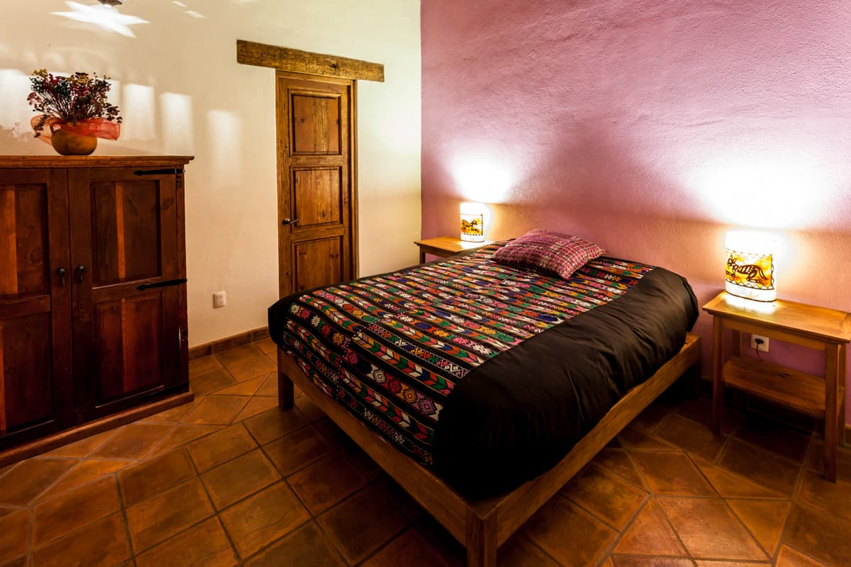 Hotel en patzcuaro balam cama closet