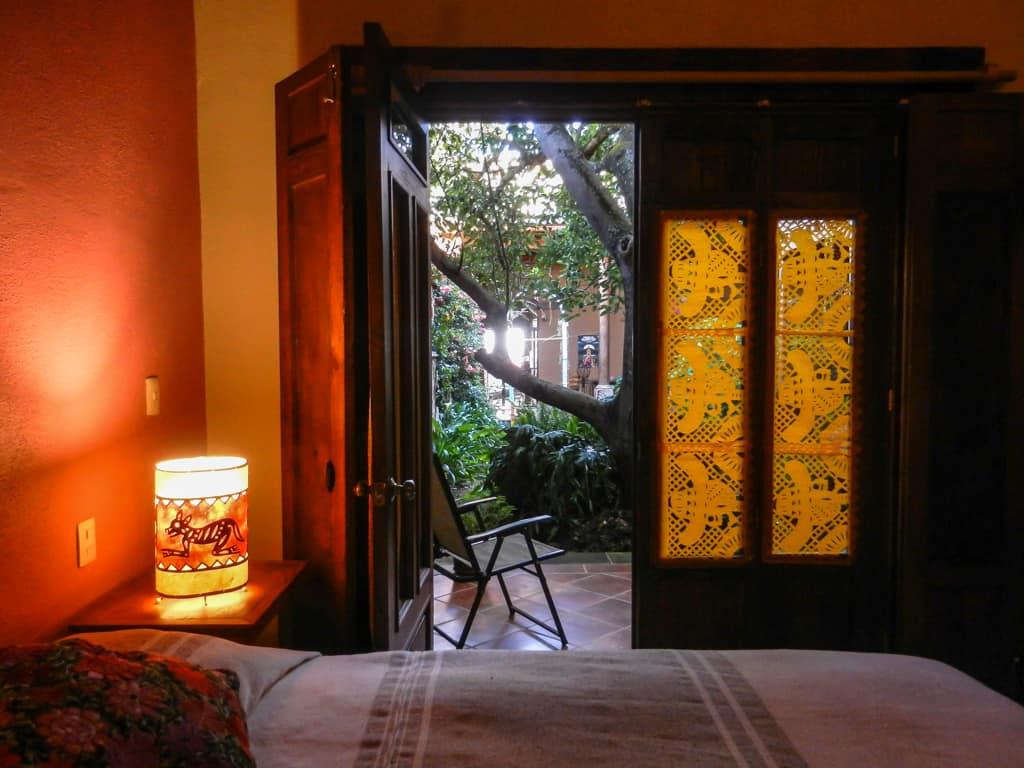 Hotel en patzcuaro balam perspectiva jardin