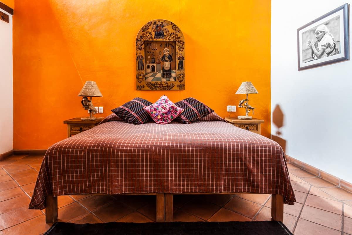 hotel en patzcuaro padiushi cama 2 metros