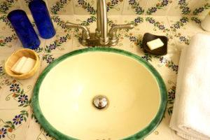hotel en patzcuaro tsinarini lavabo