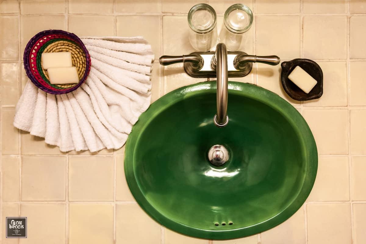 Hotel en patzcuaro sawa lavabo